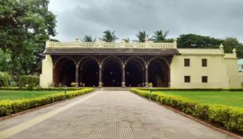 tipu sultan's summer palace bengaluru karnataka